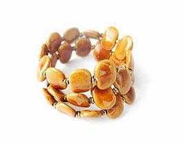 Bracelet Kazuri Honey
