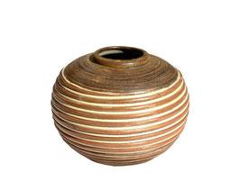 Vase poterie bambou