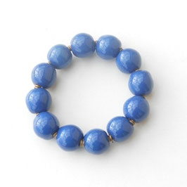 Bracelet Kazuri Shushu blue