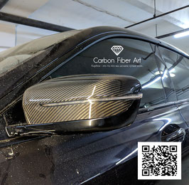 Карбоновые накладки на зеркала BMW GT6