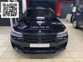 Карбоновый спойлер переднего бампера BMW GT6