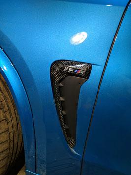 Карбоновые жабры в передние крылья BMW X5M F85