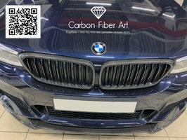 Карбоновые рамки решетки радиатора BMW GT6