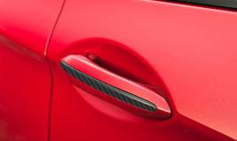 Карбоновые вставки в дверные ручки BMW GT6
