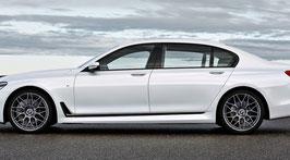 Карбоновые вставки в двери и крылья BMW 7 G11 G12