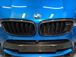 "Карбоновые рамки решетки радиатора ""CFA"" style BMW X5M F85"