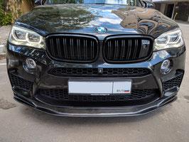 Карбоновый спойлер переднего бампера RKP BMW X5M F85