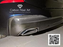 Карбоновый диффузор заднего бампера BMW GT6