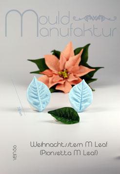 Weihnachtsst. Blatt M (Poinsettia M)