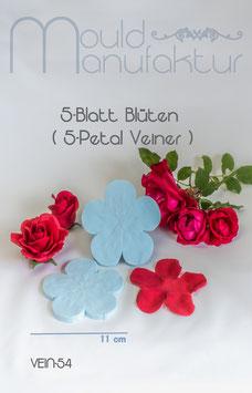 5-Blütenblatt-Rosenveiner (5-Petal Rose Veiner)