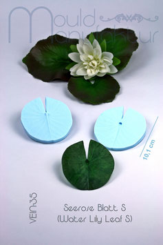 Seerose Blatt S  (Water Lily Leaf S)