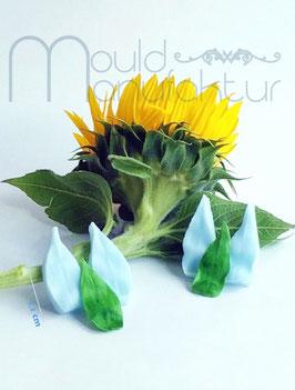 Sonnenblume Calyx  2 Größen (Sunflower Calyx  2 sizes)