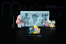 Clown 3er Set