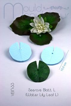 Seerose Blatt L (Water Lily Leaf L)