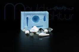 Diamanten 3D 4 Stück