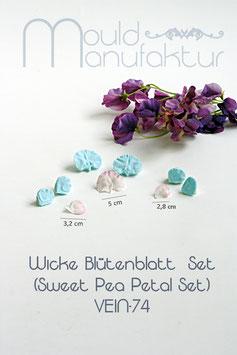 Wicke Blütenblatt  Set