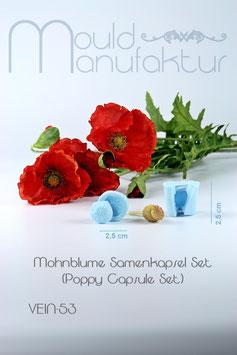 Mohnblume Samenkapsel Set  (Poppy Capsule Set)