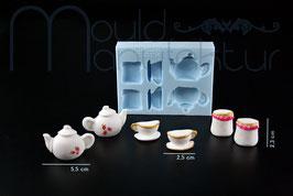 Teekanne Tasse Teedose 3D