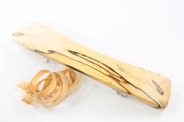 Haarspange / klein / 60mm / Intarsie / marmorierte Buche