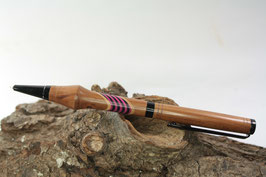 Kugelschreiber / hochwertig / Pflaume / Intarsie
