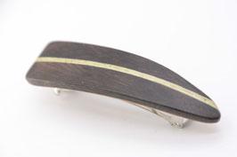 Haarspange / klein / 60mm / Mooreiche / Intarsie