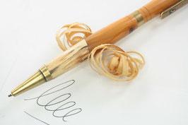 Kugelschreiber / hochwertig / Intarsie / Eibe und marmorierter Buche