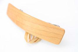 Haarspange / federleicht / 60mm / Intarsie / Ulme