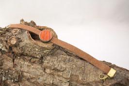 "Armband, Filz, braun, 14mm, Intarsie, ""Palisander"""
