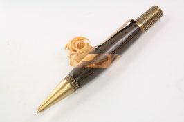 Kugelschreiber / hochwertig / Bronze / schwer / Intarsie