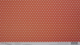 "core´dinations Designpapier 12""x12"" - Farbgruppe - orange"