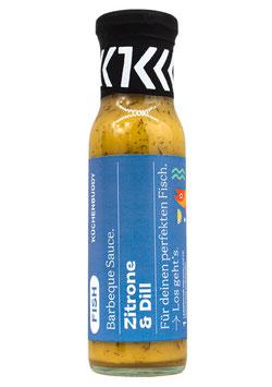 Honig-Senf Sauce mit Zitrone und Dill, 230 ml