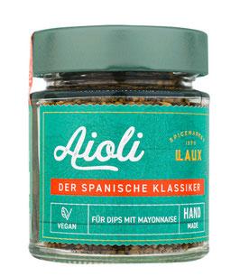 Aioli - Gewürzzubereitung mit Knoblauch, 90 g Glas