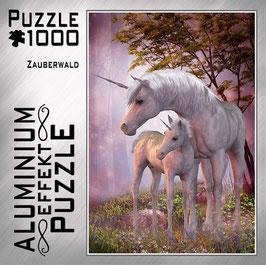 "Aluminium Puzzle ""Zauberwald"""