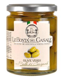 """Bella di Cerignole"" Olive Verdi - Grüne Oliven, 280 g"