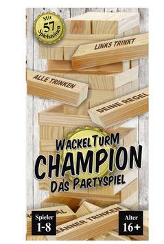 Wackelturm Champion – Nichts für Weicheier!