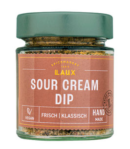 Sour Cream Dip, Kräutermischung zum Anrühren, 70 g Glas