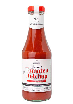 Gourmet Tomaten Ketchup mit hohem Tomatenanteil, extra fruchtig, 450 ml