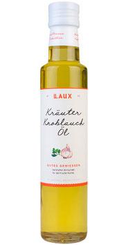 Kräuter-Knoblauch Öl - Pflanzenöl aromatisiert, 250 ml Flasche