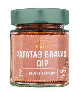 Patatas Bravas Dip, Gewürzmischung scharf, 80 g Glas