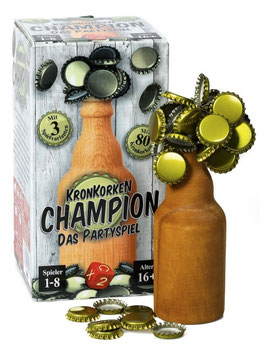 Kronkorken Champion – Auf die Bierflasche fertig – Prost!