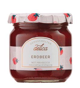 Erdbeer mit Prosecco Fruchtaufstrich, 215 g