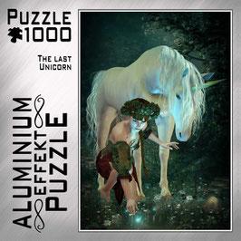"""Aluminium Puzzle """"The Last Unicorn"""""""