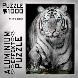 """Aluminium Puzzle """"White Tiger"""""""