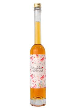 """Orangen Likör mit Cognac """"Herzlichen Glückwunsch"""", 100 ml"""