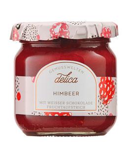 Himbeer Fruchtaufstrich mit weisser Schokolade verfeinert, 215 g