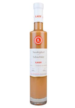 Nusskipferl Sahnelikör mit gerösteten Haselnüssen, 17 % Vol., 350 ml
