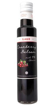 Cranberry Balsam mit 3 % Säure, 250 ml Flasche