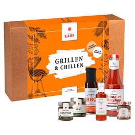 """""""Grillen & Chillen"""" Geschenkset - BBQ Spezialitäten"""