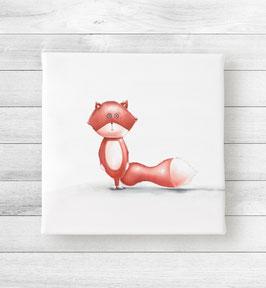 Kunstdruck auf Leinwand - Fuchs Nico
