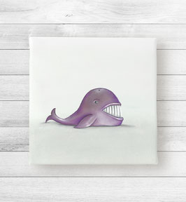 Kunstdruck auf Leinwand - Wal Wally